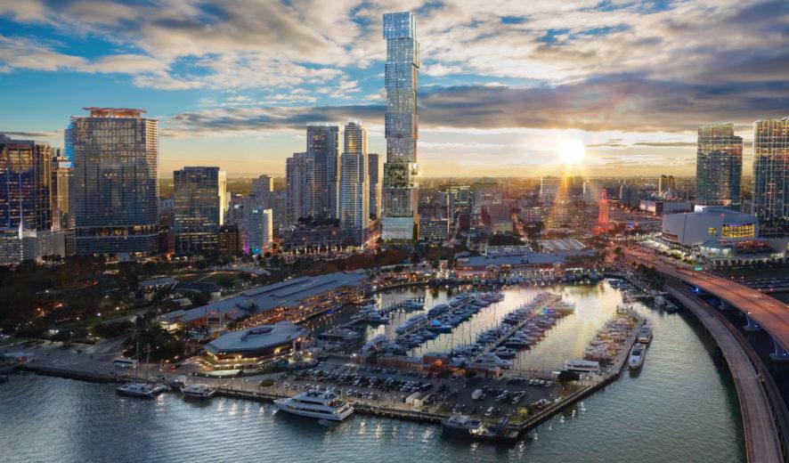 Waldorf Astoria hará su debut en Miami en la torre más alta de Florida.