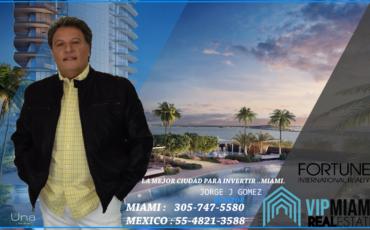 Una Residences-Apartamentos a la venta en preconstruccion en Miami- area de Brickell.