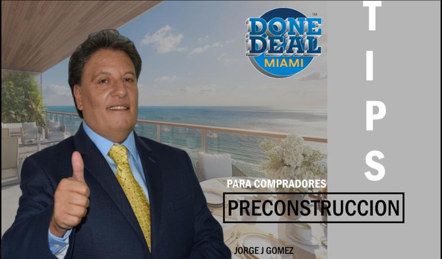 Consejos a seguir antes de comprar apartamentos en preconstruccion en Miami.