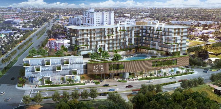 1212 Aventura-Nuevo desarrollo-Venta de apartamentos y oficinas médicas