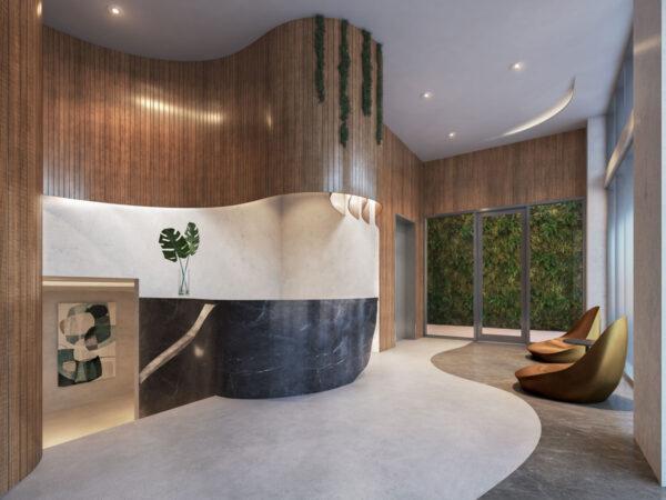 Ambienta Bay Harbor-Lobby-Venta de apartamentos de lujo en preconstruccion-VIP Miami Real Estate-Jorge J Gomez