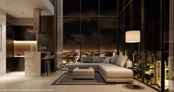 Legacy Condos-VIP Miami Real Estate-Vista de noche-