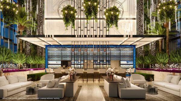 Legacy Miami-Vista desde el Skylounge-VIP Miami Real Estate
