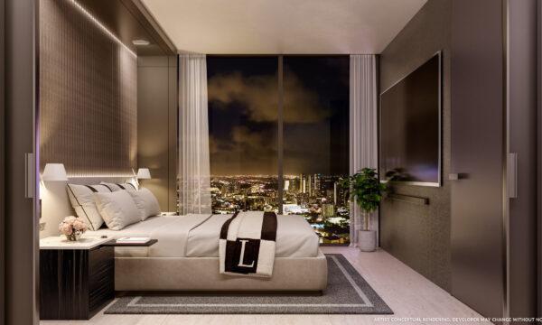 Legacy apartamentos en venta-VIP Miami Real Estate-De noche-Jorge J Gomez