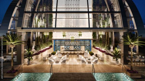 Skylounge-Piscina y Bar-Comprar apartamentos sin restricion de alquiler-VIP Miami Real Estate