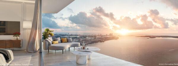 Sunrise Terrace View